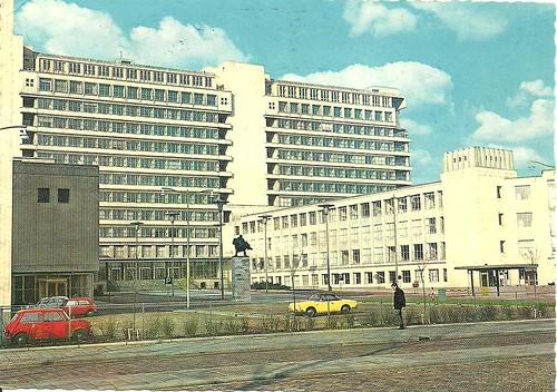 rotterdam - academisch ziekenhuis dijksigt by hansaviertel