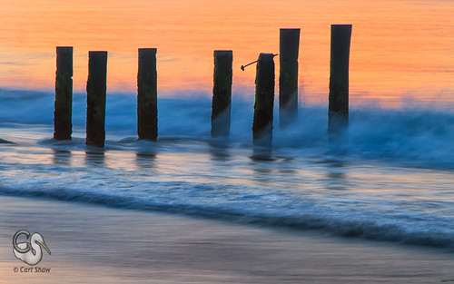 beach sunrise newjersey pilings surfline capemaynj pastelcolors endlessreach1 carlsshaw carlshawphotography