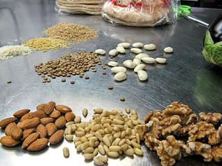 Mediterranean nuts and grains