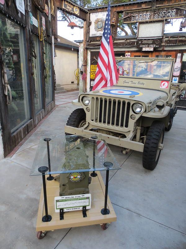DIY Project: Military Jeep Engine Block - Custom Glass Table Top