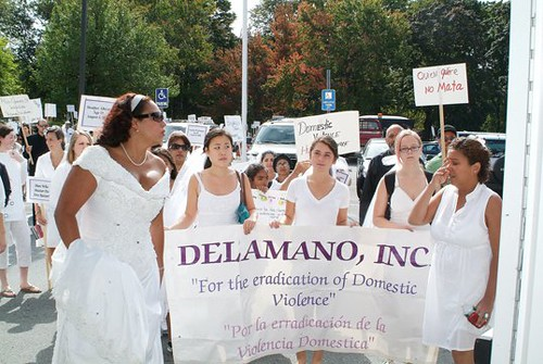March 2010-Lawrence,MA - For the eradication of domestic violence