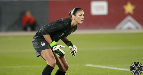 Hope Solo, USWNT September 19th 2012 win 6-2 against Australia by Corbin Elliott Photography