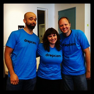 Thanks to @mcleanmel for the sweet @DropCam t-shirts! We love 'em!