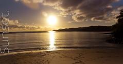 Coucher de soleil sur Mayotte
