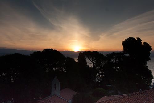 sunrise zonsopgang lovran kroatië primorjegorskikotar