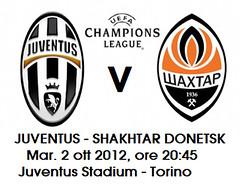 biglietti Juventus-Shakhtar
