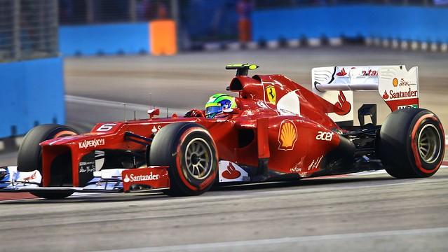 Felipe Massa - F1 Singapore @2012