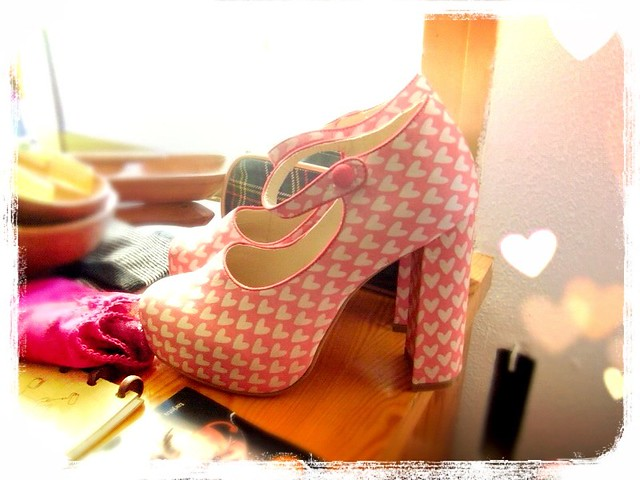 asos heart shoes