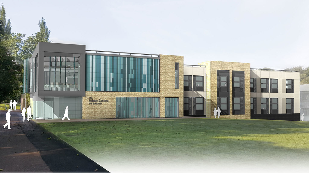 Milner Centre for Evolution architects drawing