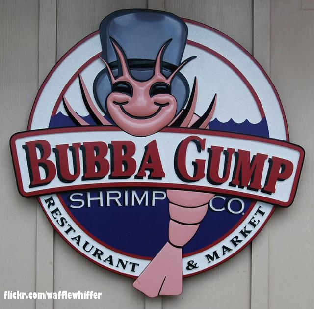 Bubba Gump Shrimp Co. - 2012 | Bubba Gump opened up a restau ...