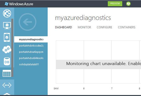 Nuevas funcionalidades en el portal de administración de Windows Azure