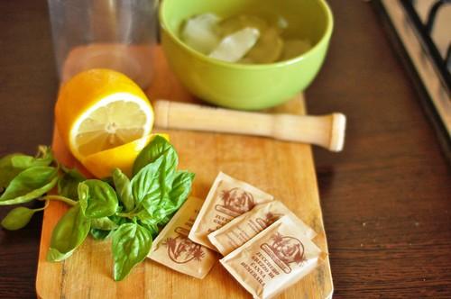 Ingrediente limonada cu busuioc