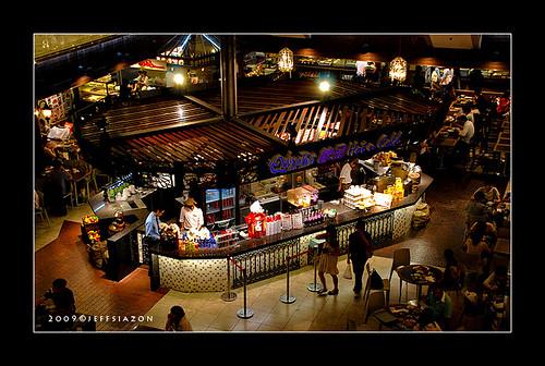 Food Republic in Silvercord Mall, HK