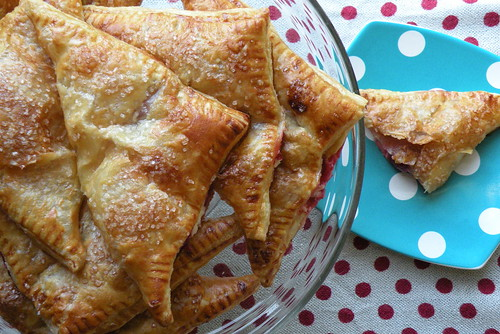 Mrs. Fields Secrets Cherry and Sweet Goat Cheese Turnovers