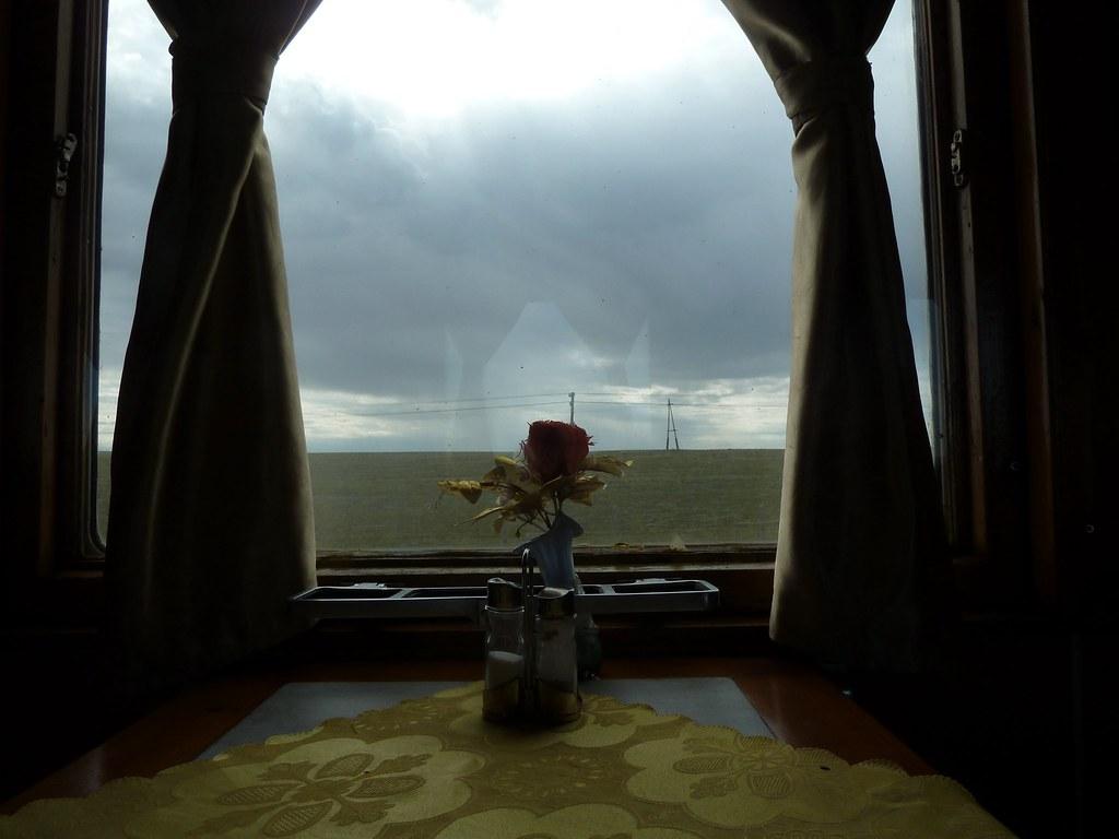 Menjador amb vistes (Transiberià)