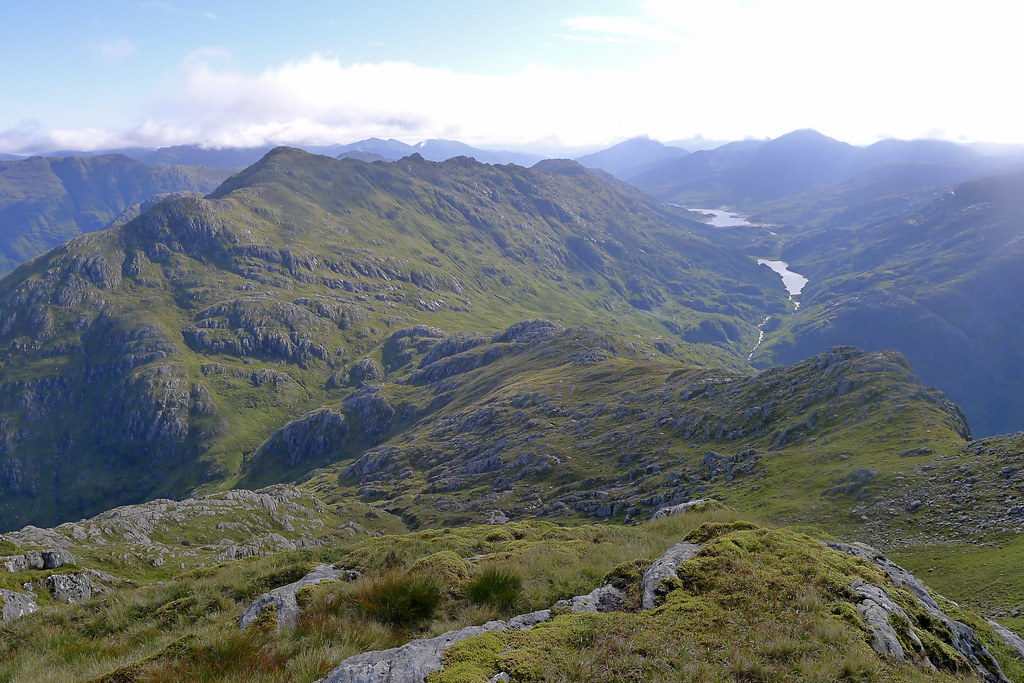 Looking back towards Loch Quoich