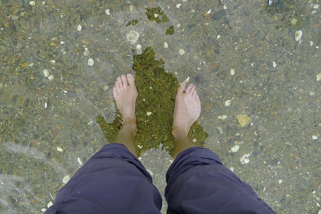 Paddling in Loch Hourn