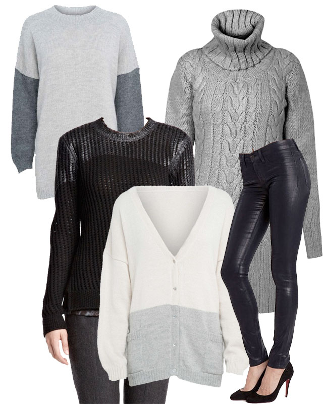 fall essentials, rachel mlinarchik, fair vanity fashion blog, chunky sweaters, jbrand