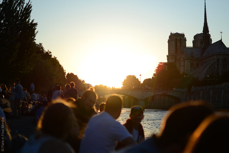 Evening by the Seine