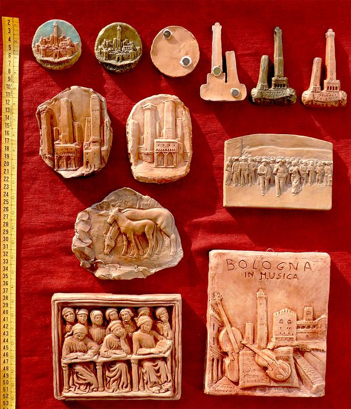 calamite e sculture miste