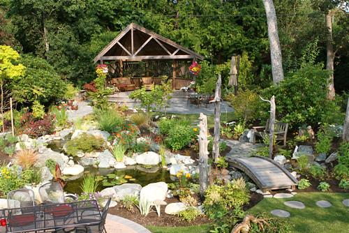 Garden Oasis in Victoria BC