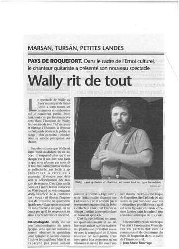 Article Sud-Ouest - NOV06