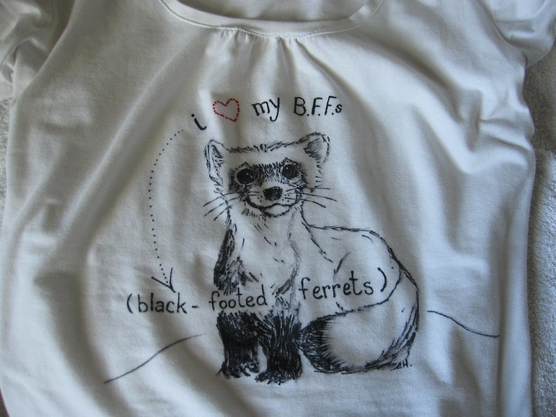 black footed ferret day toronto zoo tshirt original