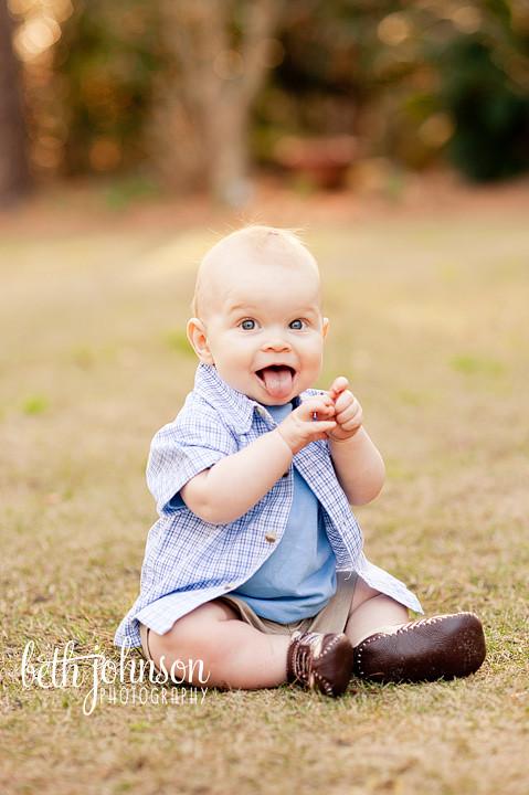 tallahassee florida baby boy photography