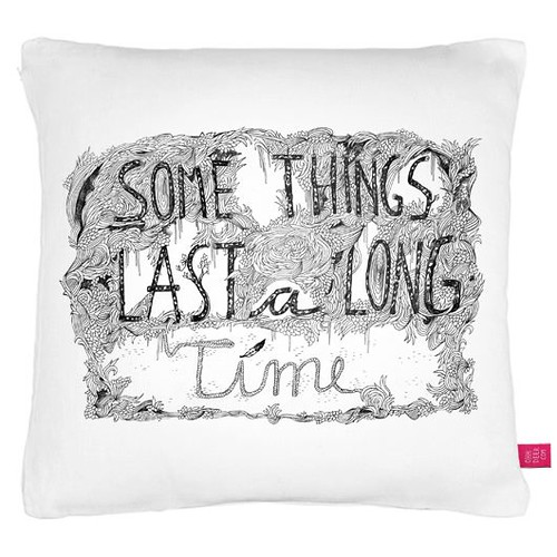 Some Things Cushion by www.sandradieckmann.com