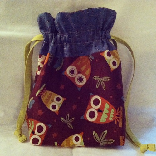 Project bag for Atia