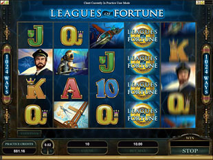 Leagues of Fortune slot game online review