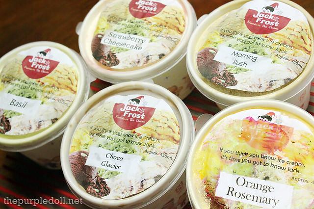 Jack Frost Ice Cream Flavors