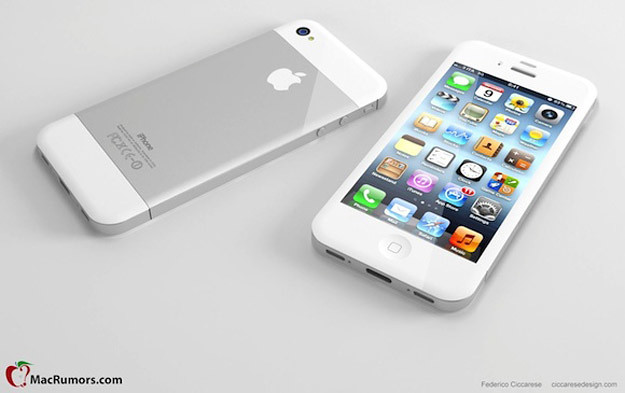 iPhone 5 render negro