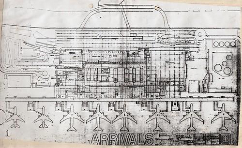 Kai Tak Airport Terminal Floor Plan - Arrivals