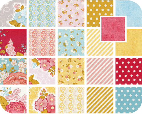 Marguerite Fat Quarter Bundle for Friday's Fabric Giveaway!!