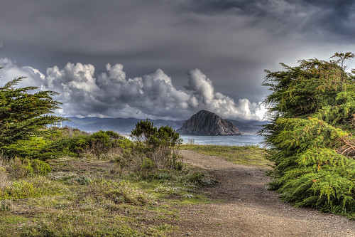 california seascape coast morrobay northpoint morrostrand