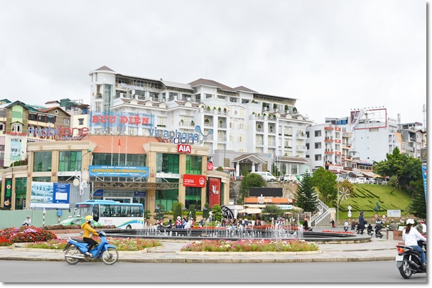 Dalat Town in the Morning