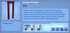 Antique Curtains