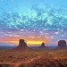 MONUMENT VALLEY SUNRISE by Parallel.....