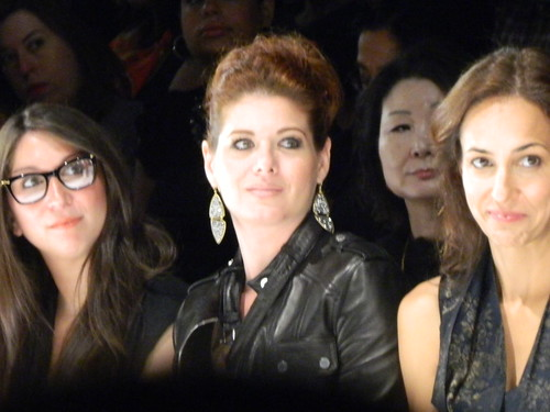 Debra Messing at Project Runway Show