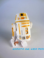 Yellow R6-Series Astromech Droid