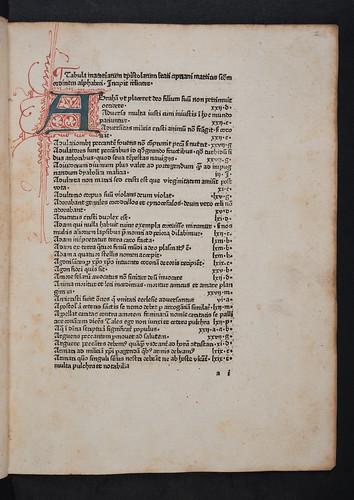 Penwork initial in Cyprianus: Opera