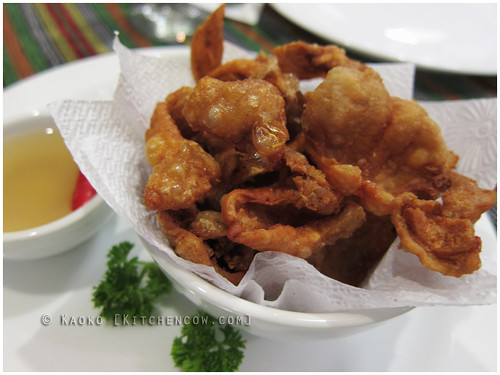 Cafe Juanita - Crispy Chicken Skin
