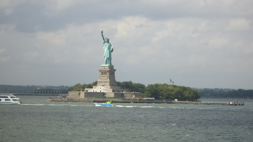 Downtown bus tour and Staten Island ferry…….