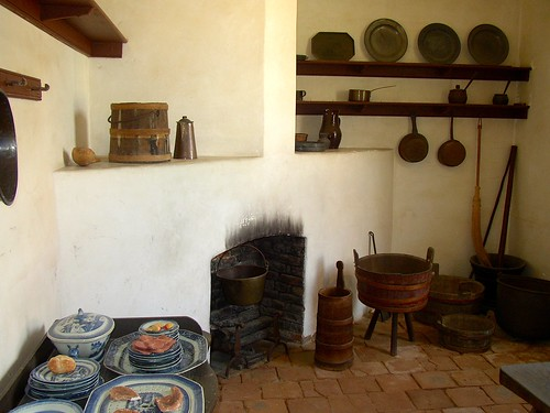 Early 1800s Farm House Kitchen