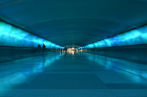 The Tunnel at the Detroit Metro Airport