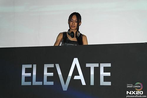 Elevate Melaka DJ Hiloco spinning