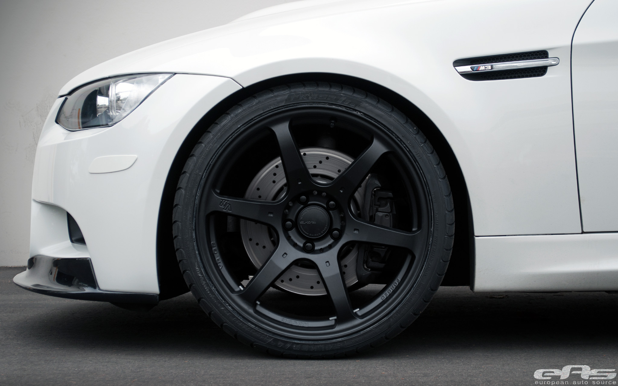 "20"" Matte Black Volk VR.G2 Wheels on E90 M3 