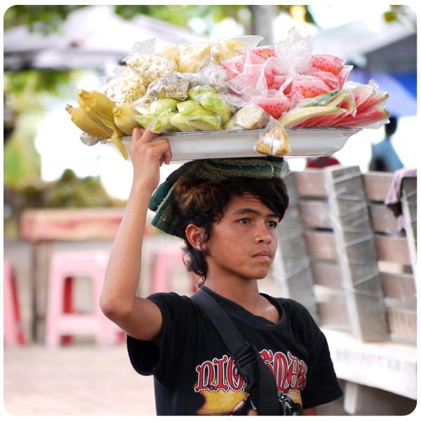 Sanur street vendor