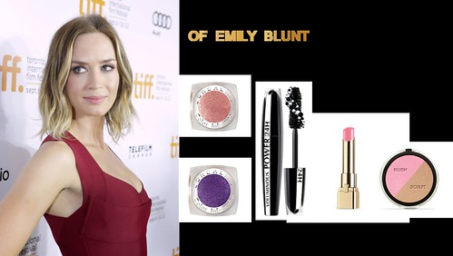 emily blunt collage